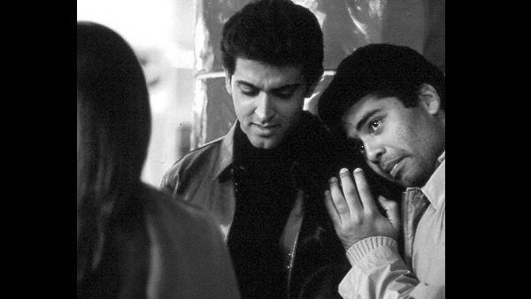 Karan Held Hrithik's Hand & Developed A Friendship With Him