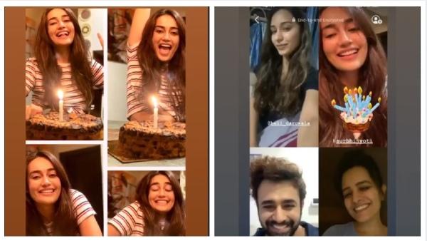 Surbhi Jyoti Celebrates Birthday At Home; Naagin Friends Pearl V Puri, Anita, Nia & Others Wish Her