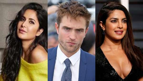 Katrina And Priyanka Had A Huge Crush On Robert Pattinson