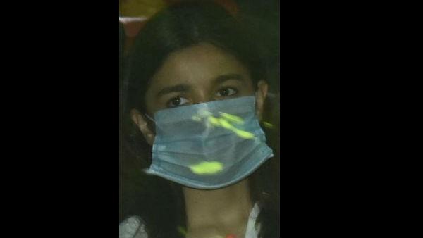 Alia Wore the Mask Upside Down