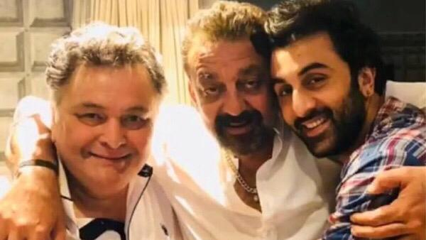 Sanjay Shares Pic With Rishi , Calls Him 'Elder Brother