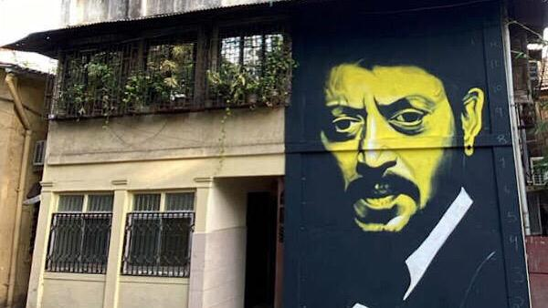 Irrfan Khan's Mural In Mumbai Spotted By Nimrat Kaur