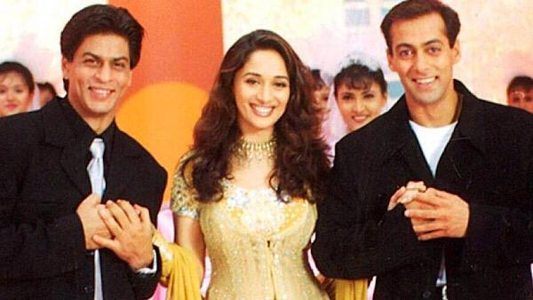 Madhuri Wants To Collaborate With SRK And Salman Again!