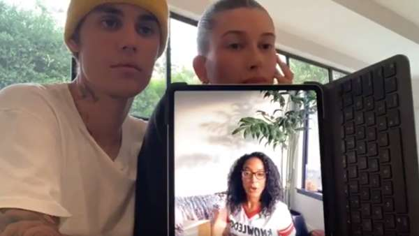 Justin And Hailey's Live Session On Black Lives Matter