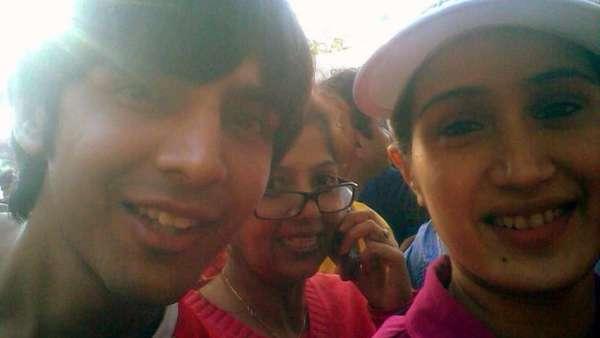 Kartik's Throwback Picture With Sagarika