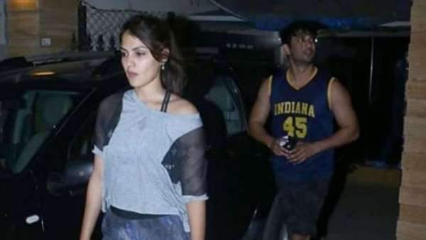 Sushant And Rhea Spotted On March 11