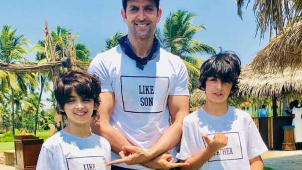 Hrithik Roshan Shares How His Son Hridaan Taught Him The True Meaning Of Multitasking