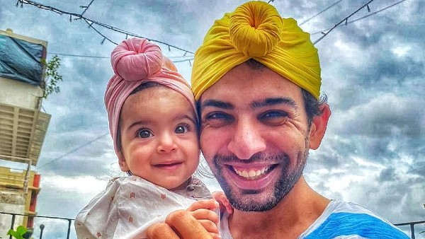 Jay Bhanushali With His Daughter