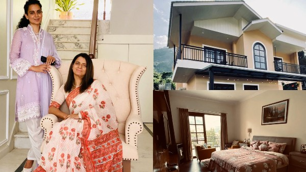 Rangoli Gives A Tour Of Her New Home Designed By Kangana!