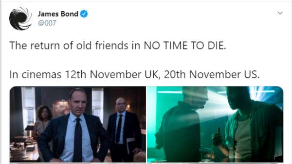 No Time To Die Is The 25th Film In The Franchise