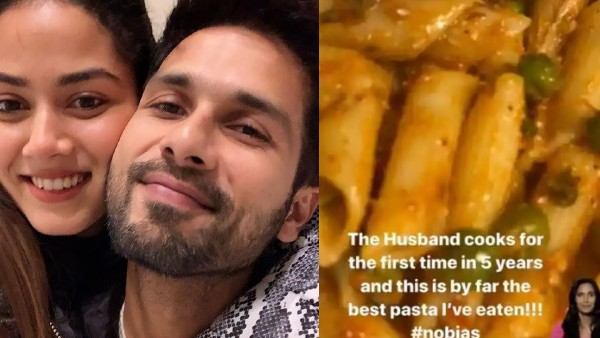Shahid Kapoor Dons The Chef's Hat