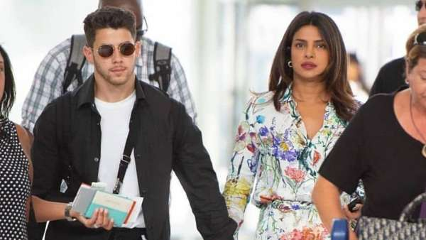 Priyanka And Nick Spotted At The JFK Airport, In New York