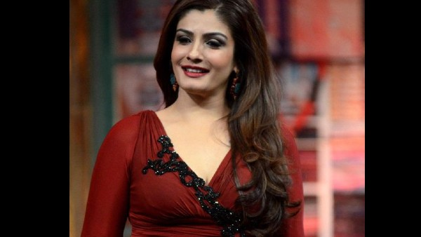 Raveena Tandon Concluded Her Point On A Positive Note
