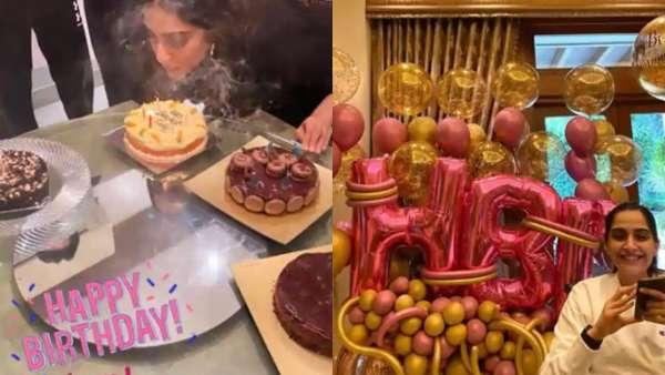 Sonam Kapoor Celebrated Her 35th Birthday In Mumbai