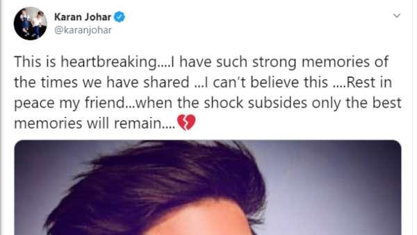 Karan Johar's Tweet