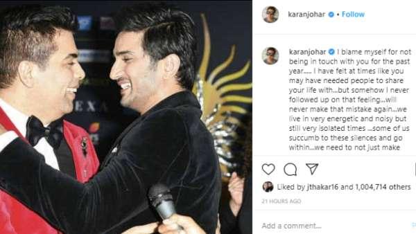 Karan Also Shared An Emotional Tribute On Instagram
