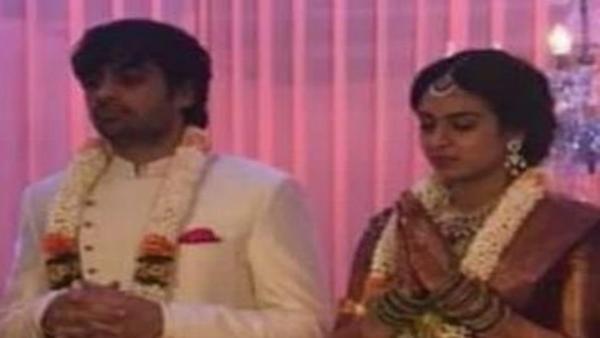 Sujeeth and Pravalika engagement