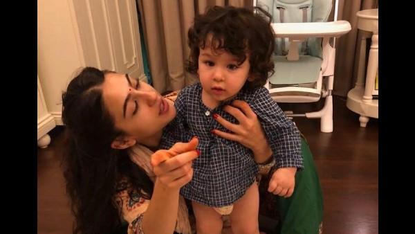 Taimur Has A Nickname For Sara Ali Khan