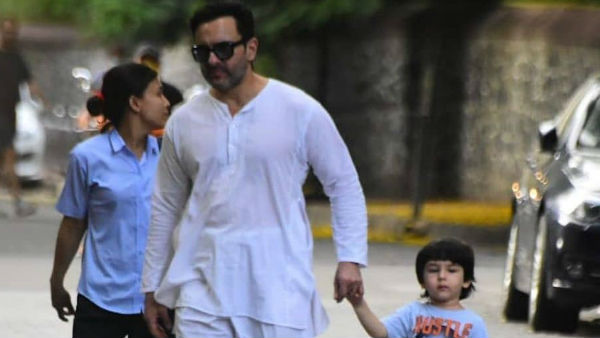 Netizens Were Shocked To See Taimur Without Mask