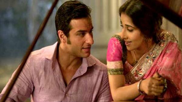 Saif Loved Vidya's Rawness While Shooting For Parineeta