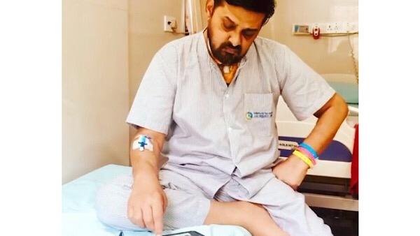 Video Of Wajid Khan Composing Tunes At The Hospital Shared By Sajid Khan; 'Legends Don't Die'
