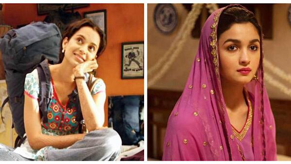 Kangana Ranaut Believes Queen Cultivated The Audience For Alia Bhatt's Raazi