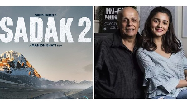 Alia Bhatt Explains Why Mahesh Bhatt Decided Not To Feature Actors On Sadak 2 Poster