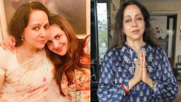 Esha Deol Debunks Rumours Of Her Mother Being Hospitalised; Hema Malini Shares Video Thanking Fans