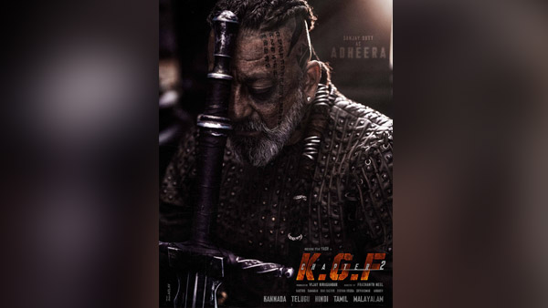 KGF Chapter 2: Sanjay Dutt Looks Intriguing As Adheera In The First Look Inspired By Vikings!