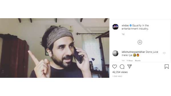 Vir Das Sums Up Bollywood Within A Minute