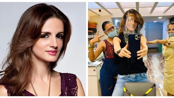 Sussanne Khan Is All Smiles Post A Hair Cut After 4 Months!
