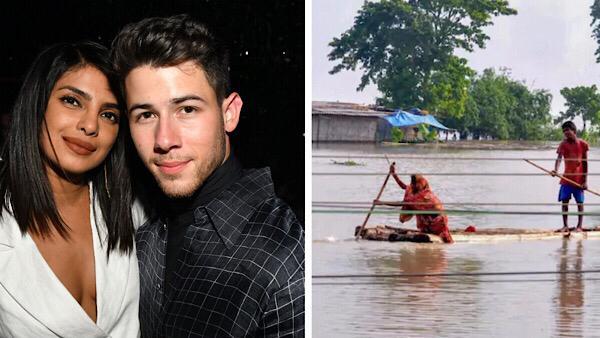 Priyanka Chopra And Nick Jonas Draw Attention To Assam Floods, Make Contributions To Flood Relief