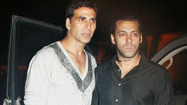 Clash Between Salman Khan And Akshay Kumar Averted