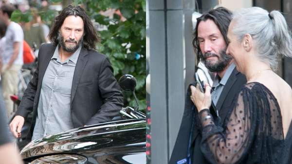 Keanu Reeves Spotted Out On Dinner With Matrix 4 Co-Stars As Filming Resumes In Berlin