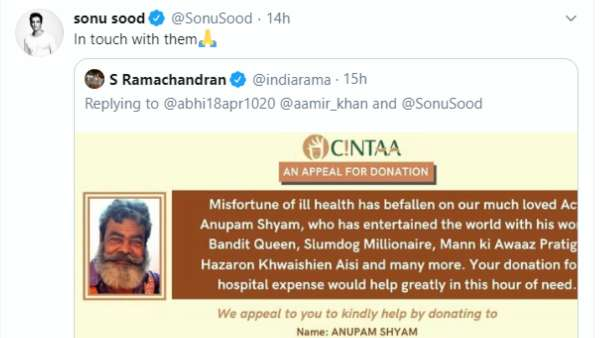 Sonu Sood's Post
