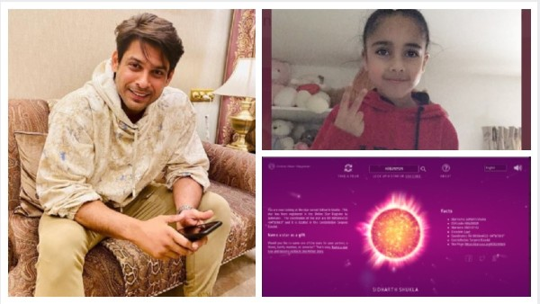 Sidharth Shukla's Little Fan Names A Star After The Actor With Birthday Money