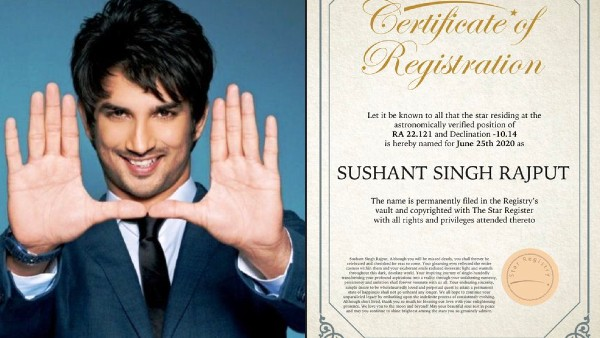 Fan Names A Star After Late Actor Sushant Singh Rajput: May You Continue To Shine Brightest