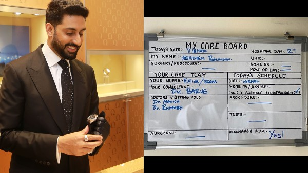 Abhishek Bachchan Tests Negative For COVID-19, Says 'So Happy To Be Able To Go Home'
