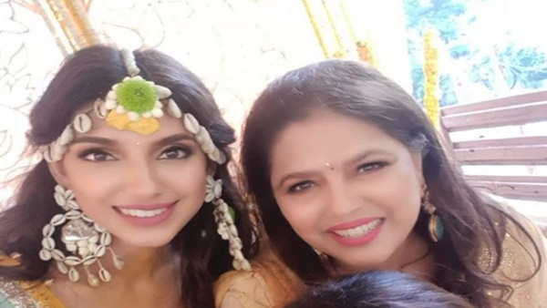 Rana Daggubati's To-Be-Mother-In-Law Gets Emotional Seeing Daughter Miheeka Bajaj In Wedding Lehenga