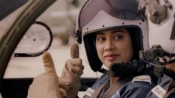 Gunjan Saxena Iaf Pilot Who Served With Real Life Gunjan Slams The Janhvi Kapoor Starrer Filmibeat