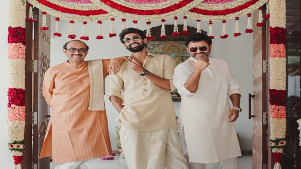 Rana Daggubati with his father and uncle