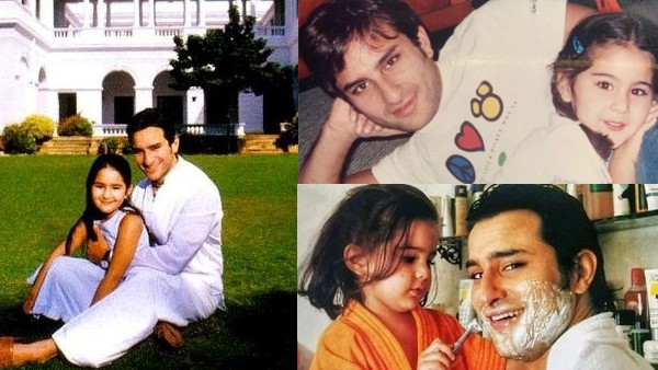 Sara Ali Khan Birthday Special: Her Childhood Pictures With 'Abba' Saif Are Cute Beyond Words