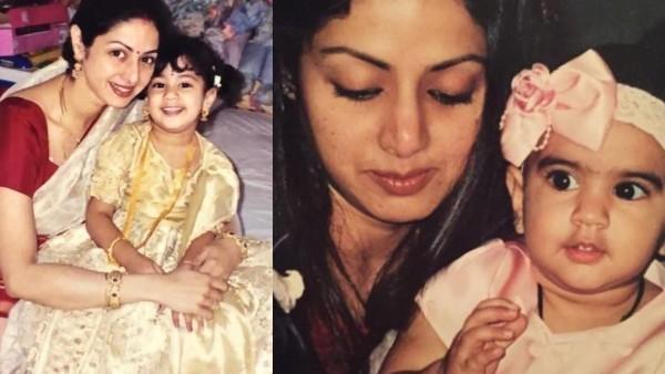 Sridevi's Birth Anniversary: A Super Mom In Real Life!