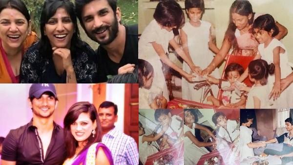 Sushant's Sisters Get Emotional On Raksha Bandhan
