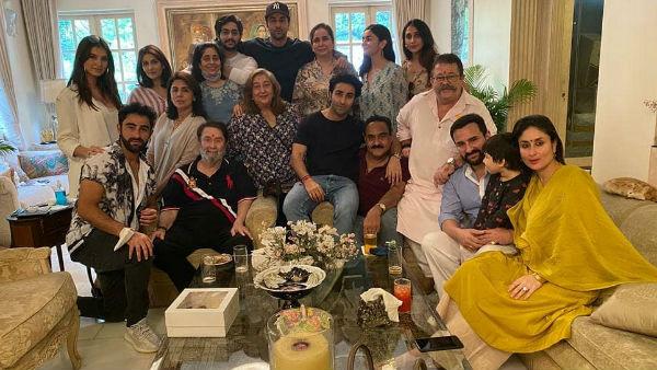 Alia Joins Ranbir & Kareena For Raksha Bandhan Celebration