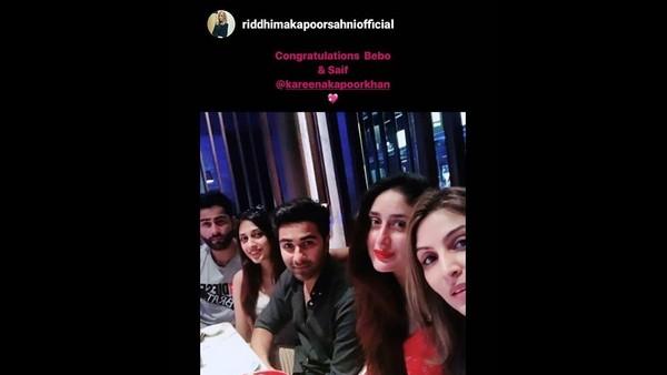 Riddhima Kapoor Sahni's Post For Kareena