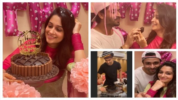 Shoaib Ibrahim Makes Wife Dipika Kakar's Birthday Special By Surprising Her With A Homemade Cake