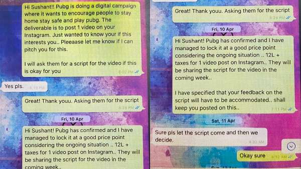 Texts Reveal Them Talking About Brand Collaborations