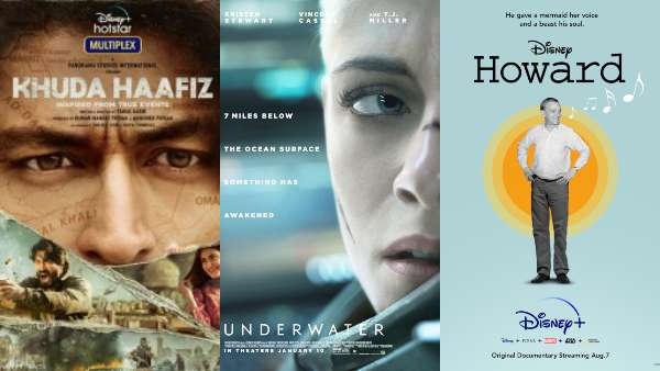 Disney+ Hotstar In August 2020: Khuda Haafiz, Underwater, Howard & More