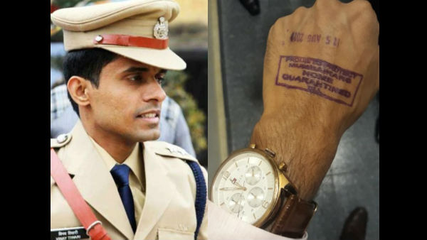 Rhea Chakraborty Case: IPS Vinay Tiwari Breaks Silence, Reprimands BMC For Forcibly Quarantining Him